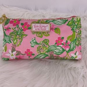 Lilly Pulitzer for Estée Lauder cosmetic bag nwot